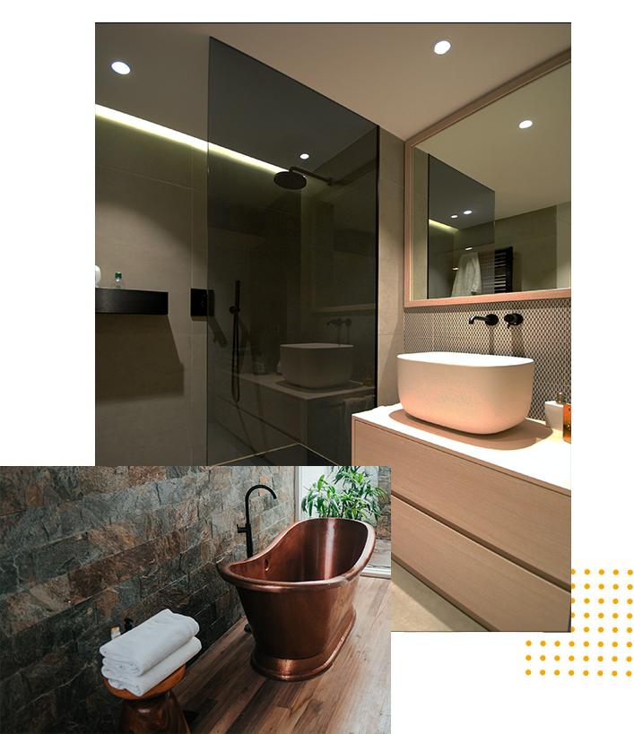 Bath Basics by grand floors and more Katy Houston